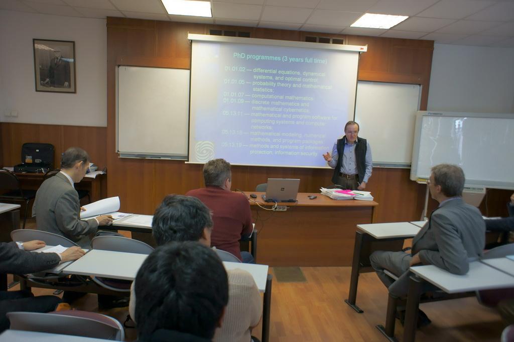 Delegation from tohoku university japan at cmc msu