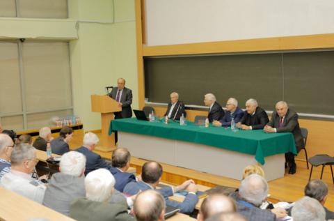 выступление ректора Садовничего В.А.