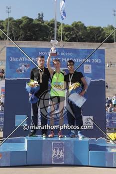 Награждение победителя Искандера Ядгарова
