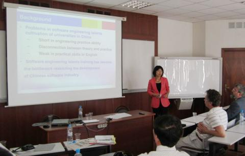 Presentation on computer software education in China