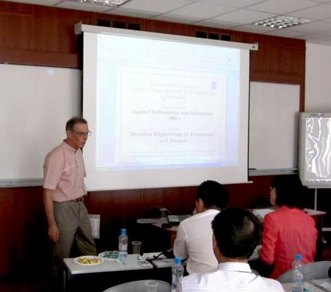 MSc program decision engineering in economics and finance by Vasin