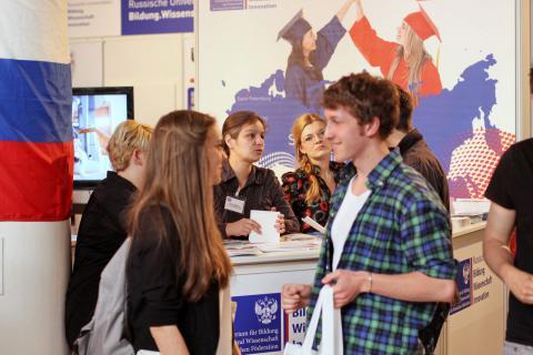 Вмк на выставке studyworld 2013 берлин